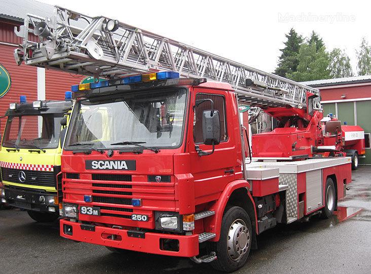 πυροσβεστικό κλιμακοφόρο SCANIA P-93, 4x2WD