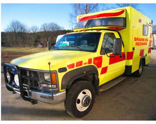 πυροσβεστικό όχημα CHEVROLET WD