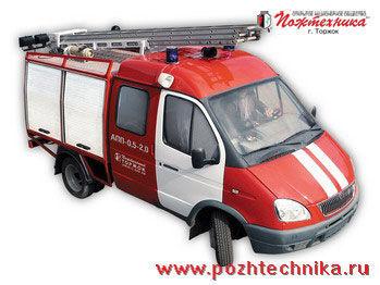 πυροσβεστικό όχημα GAZ APP-0,5-2,0 Avtomobil pervoy pomoshchi