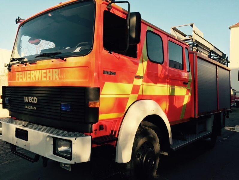 πυροσβεστικό όχημα IVECO HLF Typ 120-25 4x4