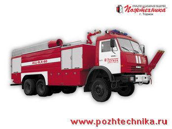 πυροσβεστικό όχημα KAMAZ AC-9,4-60