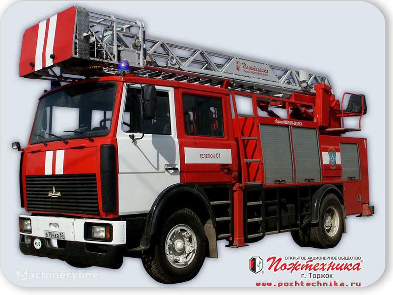 πυροσβεστικό όχημα MAZ APS(L)-1,25-0,8 Avtomobil pozharno-spasatelnyy s lestnicey