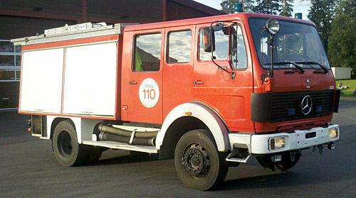 πυροσβεστικό όχημα MERCEDES-BENZ 1019-AF, 4x4 WD
