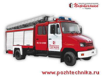 πυροσβεστικό όχημα ZIL AC-1,0-4/400