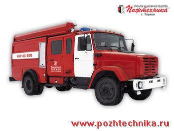 πυροσβεστικό όχημα ZIL ANR-60-800 Avtomobil nasosno-rukavnyy