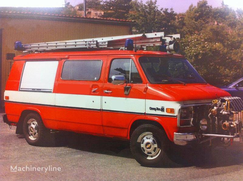 υδροφόρο πυροσβεστικό όχημα Chevrolet Van G-30