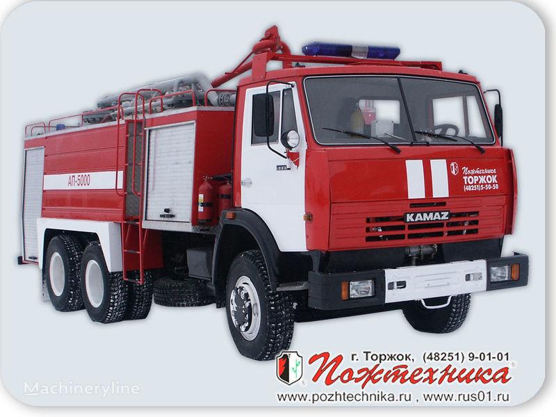 υδροφόρο πυροσβεστικό όχημα KAMAZ AP-5000 Avtomobil poroshkovogo tusheniya