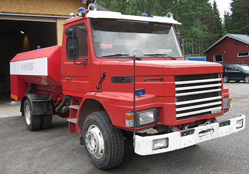 υδροφόρο πυροσβεστικό όχημα SCANIA T-112H