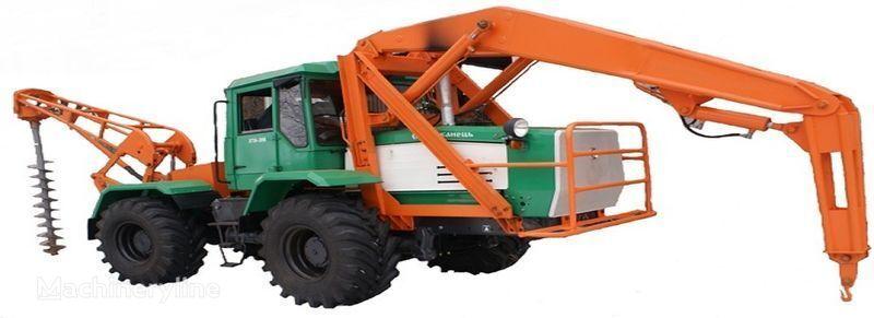 άλλο ειδικό όχημα BKM 2M Burilno-kranovaya mashina BKM-2M s mehanicheskim privodom vrashche