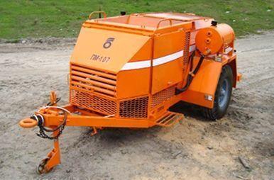 καινούριο άλλο ειδικό όχημα PM 107 Recikler asfaltobetona