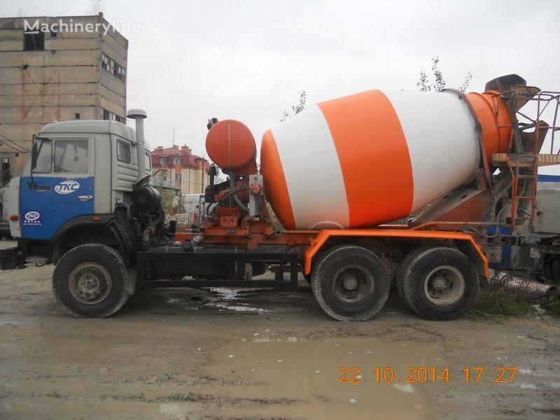 αναμεικτήρας μεταφοράς σκυροδέματος (Βαρέλα) KAMAZ 53229A