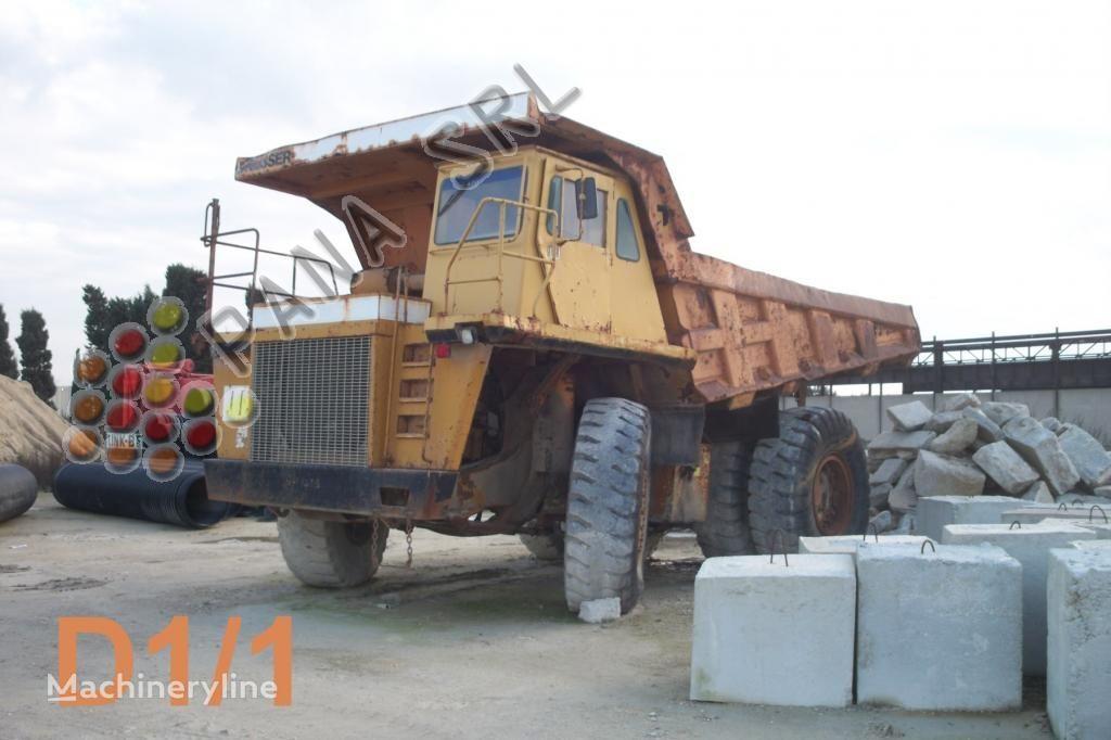 ανατρεπόμενο όχημα μεταφοράς λατομικών υλικών DRESSER 210 - 40 mc