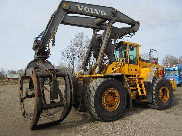 εμπρόσθιος τροχοφόρος φορτωτής VOLVO L180D HL κατά ανταλλακτικό