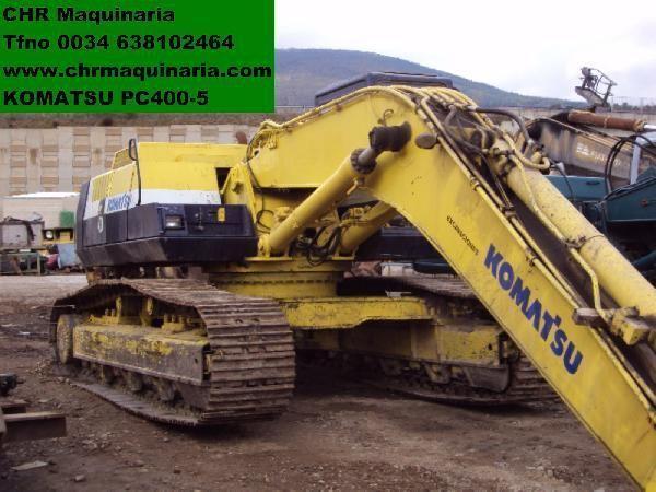 ερπυστριοφόρος εκσκαφέας KOMATSU PC400-5