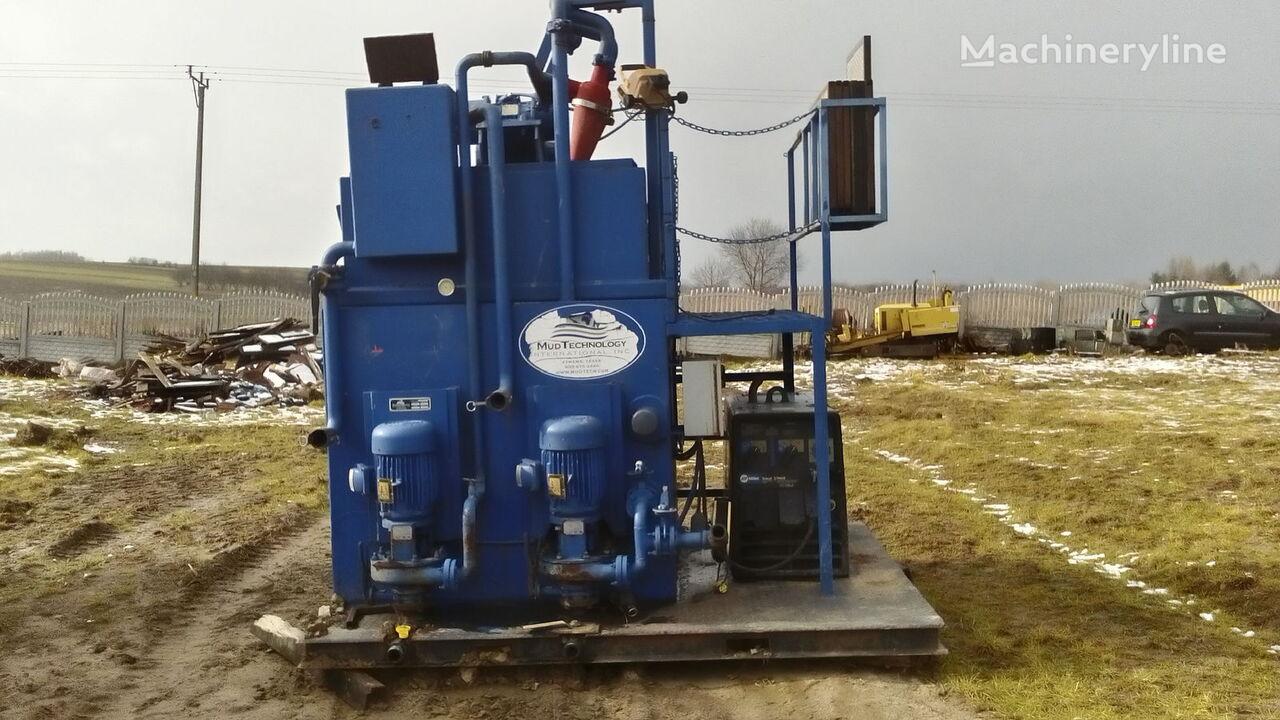 γεωτρύπανο κατευθυνόμενης οριζόντιας διάτρησης VERMEER  Mud technology MCS 80