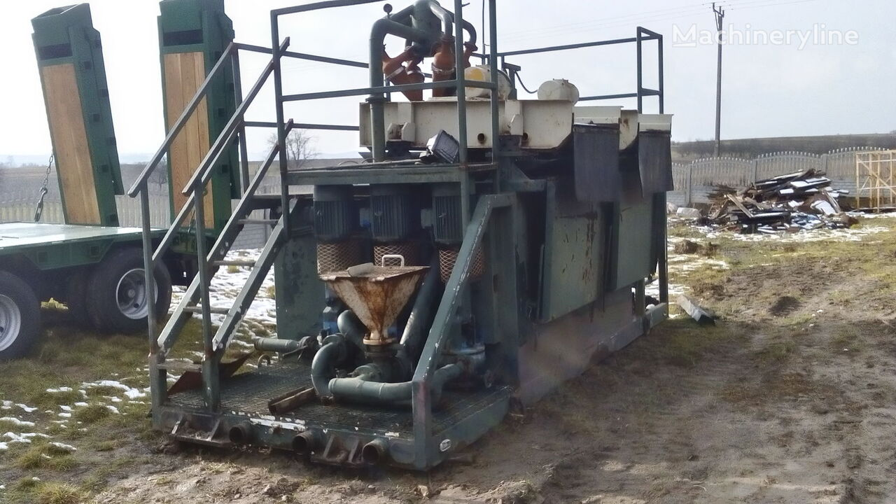 γεωτρύπανο VERMEER  Mud recycling unit Basic Fabrication MCS 260