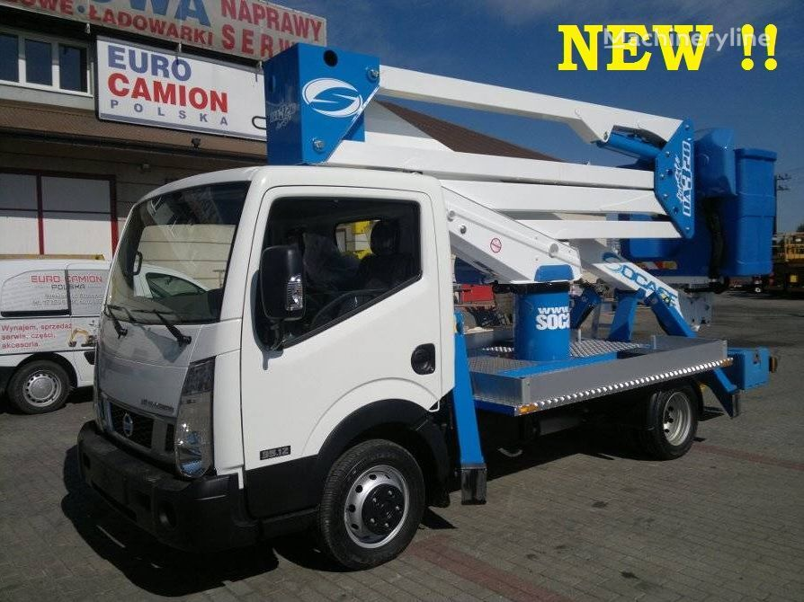 καινούριο καλαθοφόρο όχημα NISSAN Cabstar podnośnik koszowy zwyżka 20m