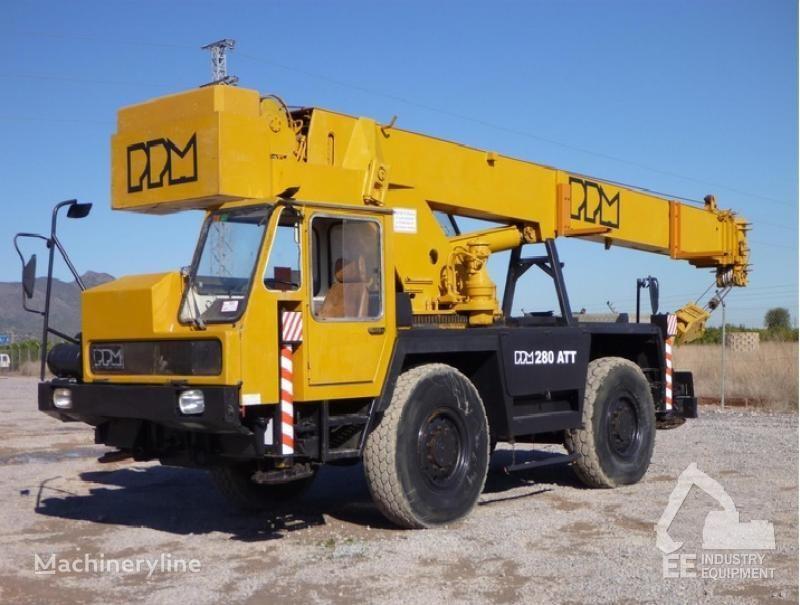 κινητός γερανός PPM 280 ATT