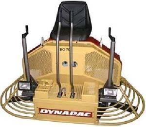 καινούρια μηχανή λείανσης δαπέδου DYNAPAC BG70