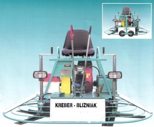 καινούρια μηχανή λείανσης δαπέδου KREBER K-436-2-T Blizniak