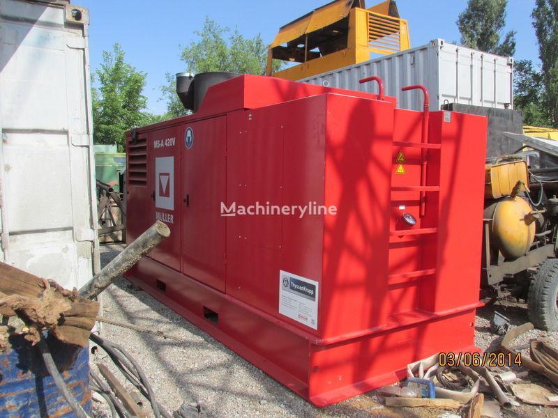 καινούριο μηχάνημα έμπηξης πασσάλων Vibropogruzhatel MÜLLER-24 HFV