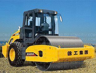 καινούριο οδοστρωτήρας γαιών XCMG XS202