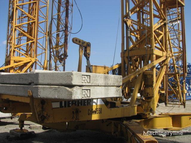 οικοδομικός γερανός (πυργογερανός) LIEBHERR 63 K