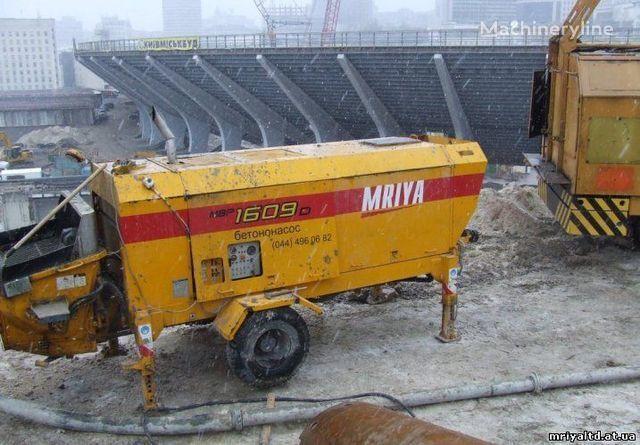 σταθερή αντλία σκυροδέματος MRIYA PRODAZhA stacionarnogo betononasosa