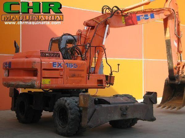 τροχοφόρος εκσκαφέας FIAT-HITACHI EX165W.3