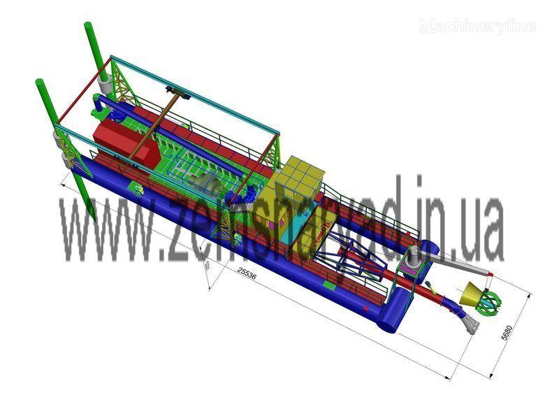 βυθοκόρος NSS Zemsnaryad NSS 6000/70-F-GR-E