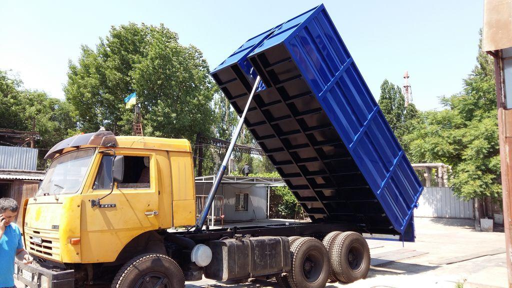 καινούρια ανατρεπόμενη καρότσα KAMAZ 5320