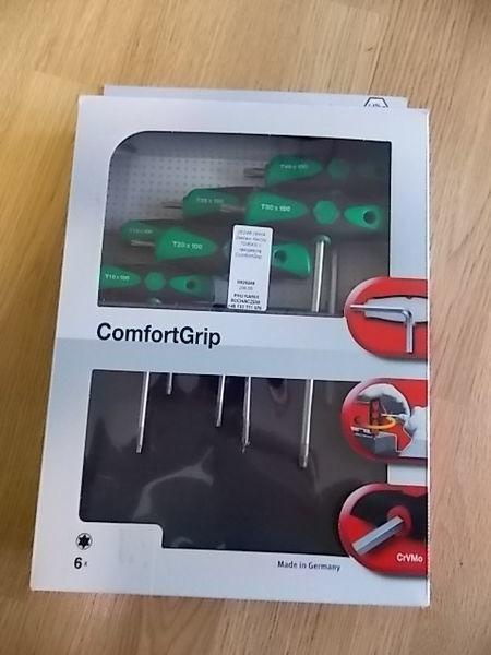 εργαλείο συνεργείου αυτοκινήτων Zestaw kluczy TORX z rękojeścią ComfortGrip.