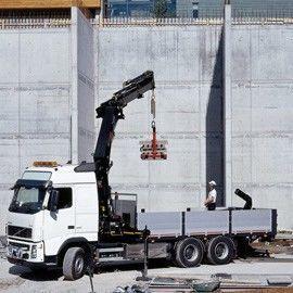 καινούριο γερανοφόρο φορτηγό HIAB
