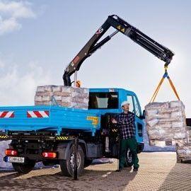 καινούριο γερανοφόρο φορτηγό HIAB XS 022