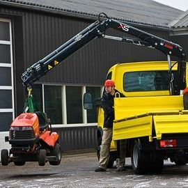 καινούριο γερανοφόρο φορτηγό HIAB XS 044