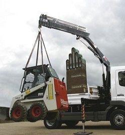 καινούριο γερανοφόρο φορτηγό HIAB XS 055