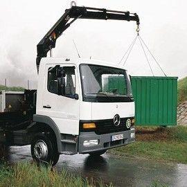 καινούριο γερανοφόρο φορτηγό HIAB XS 099