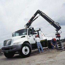 καινούριο γερανοφόρο φορτηγό HIAB XS 122
