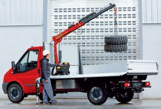 καινούριο γερανοφόρο φορτηγό PALFINGER PC 1500 Compact
