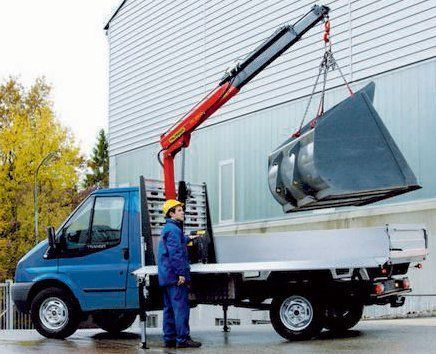 καινούριο γερανοφόρο φορτηγό PALFINGER PC 3800 Compact