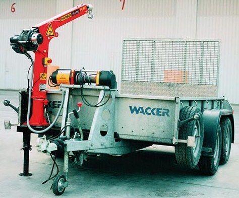 καινούριο γερανοφόρο φορτηγό PALFINGER PC 900