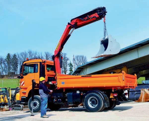 καινούριο γερανοφόρο φορτηγό PALFINGER PK 14002-EH High Perfomance