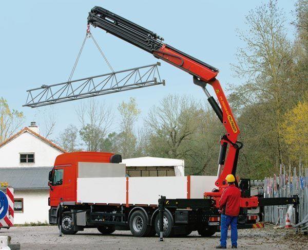 καινούριο γερανοφόρο φορτηγό PALFINGER PK 26002-EH High Perfomance