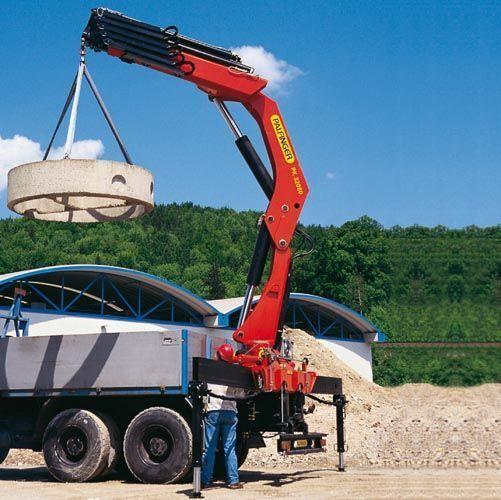 καινούριο γερανοφόρο φορτηγό PALFINGER PK 32080 Performance