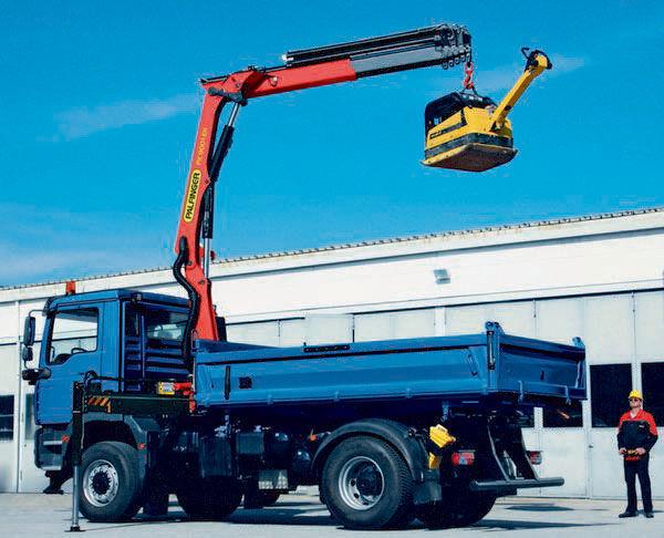 καινούριο γερανοφόρο φορτηγό PALFINGER PK 9001 EH High Performance