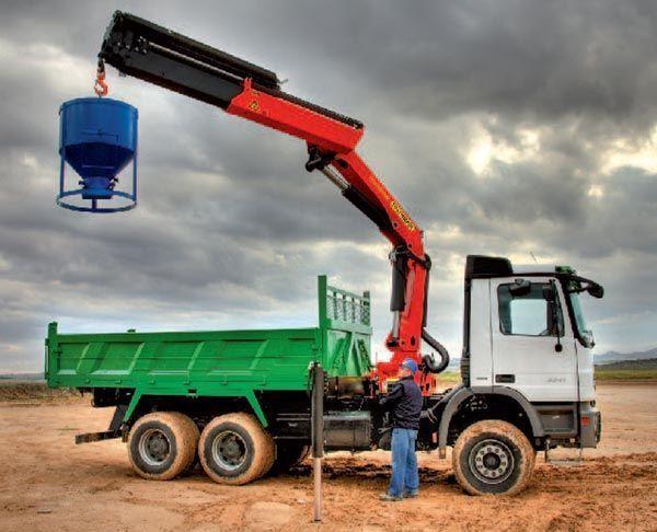 καινούριο γερανοφόρο φορτηγό PALFINGER Kran manipulyator PK 23502 High Perfomance