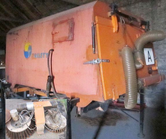 βούρτσα 3.5 m3 zametač nástavba Trilety MKV (hydraulic