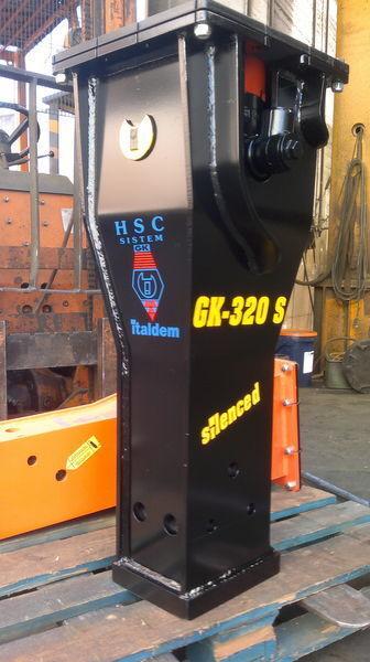 καινούριο υδραυλικό σφυρί ITALDEM GK 320S