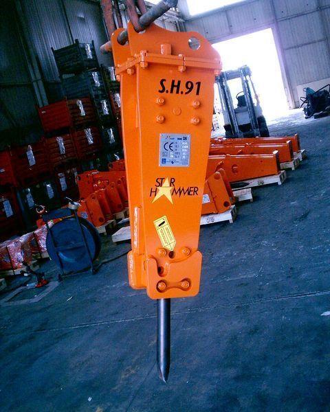 καινούριο υδραυλικό σφυρί STAR Hammer SH 91