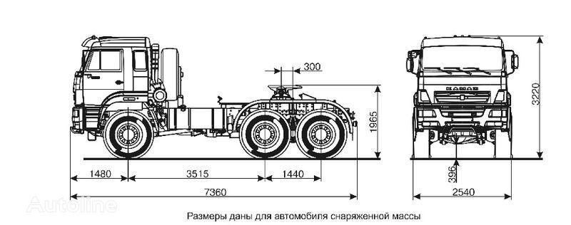 ελκυστήρας KAMAZ 65221